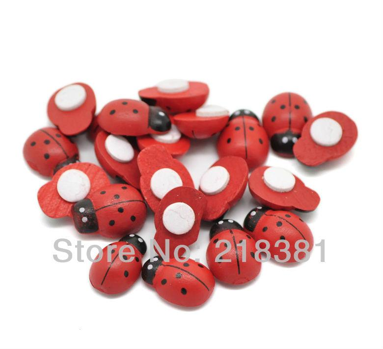 Wholesale wooden ladybug self adhesive stickers easter decoration wholesale wooden ladybug self adhesive stickers easter decoration cute fridge magnets for scrapbooking 14x19mm fridge magnets business cards fridge magnets colourmoves