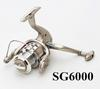 Wholesale-6BB Fishing Reel 6000 Large Spinning Reels Collapsible ABS Pool Gear Fishing Tackle Carretilha PescaSG6000 5000 4000