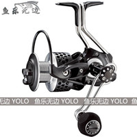 Wholesale Salt Waters Reels - Wholesale-High Quality Iron Man 3000 4000 series spinning reel fishing reel all metal materials salt water 12+1 BB