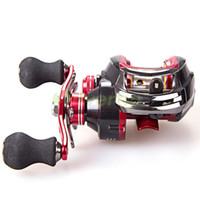 Wholesale Magnetic System - Wholesale-17+1 BB 6.3:1 Saltwater Ocean Baitcasting Fishing Reel Bait Casting Baitcast Caster Right Left Hand Magnetic Brake System YZR
