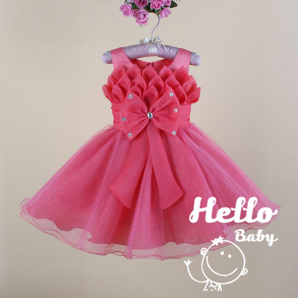 Compre Mayor Del Bebé De La Princesa Vestido Diseños Levita Bebé ...