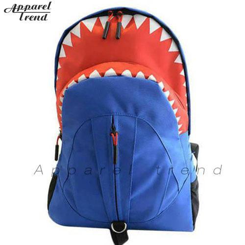Wholesale Children'S Backpack Cute 3d Shark