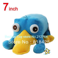 """Wholesale Phineas Ferb Figures - Wholesale-Phineas and Ferb Plush doll Cartoon Animal Secret AGENT Platypus Movie & TV cute Perry Plush Doll 7"""" stuffed soft doll"""