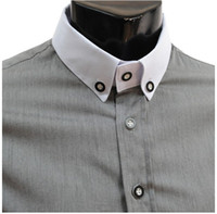 Vêtements-Men Wholesale Shirt Mode 2015 Casual-Shirt Casual Dress Brand Mens Robe Slim Fit Chemises Camisa Masculina social de Chine importées