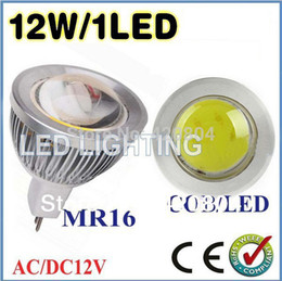 Wholesale 9w Blue Led Spotlight Bulbs - Wholesale-JIE 5pcs lot 9W 12W 15W MR16 GU10 E27 COB LED Spot Light Spotlight Bulb Lamp High power lamp AC DC12V 3 years Good Quality