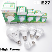Wholesale Led E27 5w Epistar - Wholesale-2835 SMD Led Bulbs Lights Ampoules E 27 Lamps 3W 5W 7W 9W 12W Bulb Bombilla E27 Ampoule Lamp For Home 110V 220V Drop Shipping