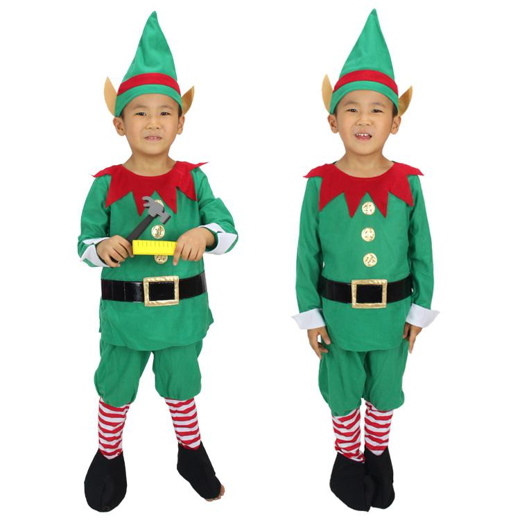 See larger image  sc 1 st  DHgate.com & Wholesale Funny Christmas Costumes Green Fairy Costumes For Boys ...
