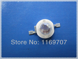 Wholesale 3w Red Led Diodes - Wholesale-LED 3W 940NM Far Red Infrared LED Lamp Diode Bead IR LED 3W Deep Red Diode 20PCS LOT