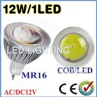 Wholesale 9w Blue Led Spotlight Bulbs - Wholesale-5pcs lot 9W 12W 15W MR16 GU5.3 GU10 E27 COB LED Spot Light Spotlight Bulb Lamp High power lamp AC DC12V 3 years , FREE SHIPPING