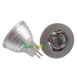 Venta al por mayor 3W-4W MR16 RGB LED 16 que cambia la lámpara de Downlight del bulbo para la decoración del partido de vacaciones 5pcs / lot Freeshipping desde fabricantes