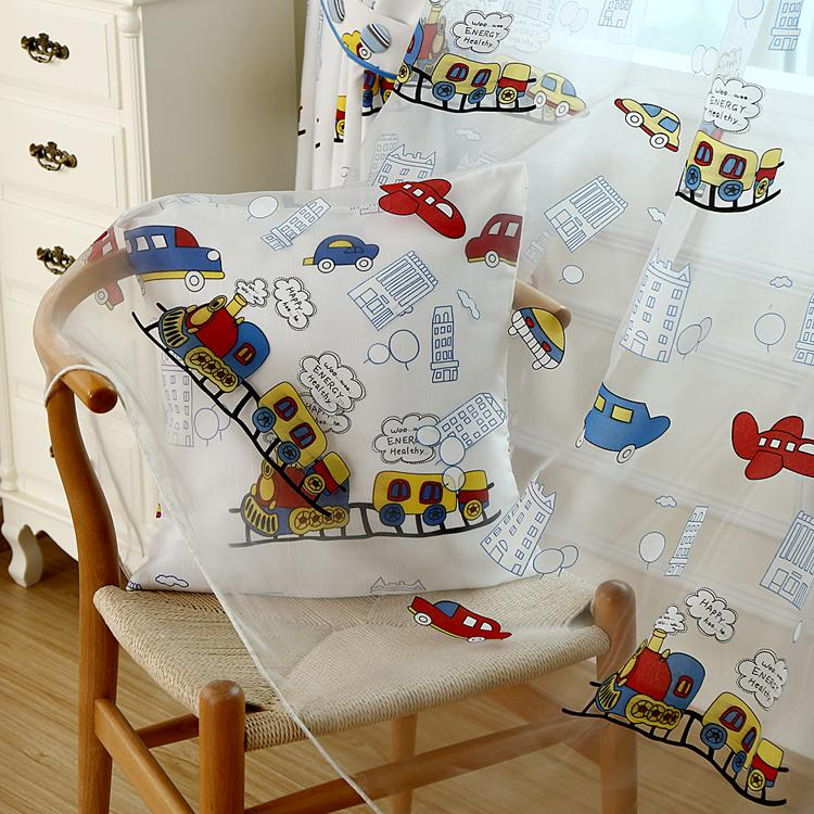 wholesale cartoon curtain yarn trains design jpg. Wholesale Cartoon Curtain Yarn Trains Design Window Screening