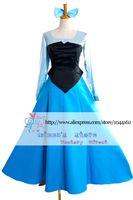 Wholesale custom made mermaid costume - Wholesale-New Arrival The Little Mermaid Adult Ariel Cosplay Costume