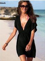 Wholesale Good Women Suit Brands - Wholesale-New arrive hot women skirt dress swimwear sexy bikini cover up summer beachwear brand good quality 2015 new gift brand 14 colors