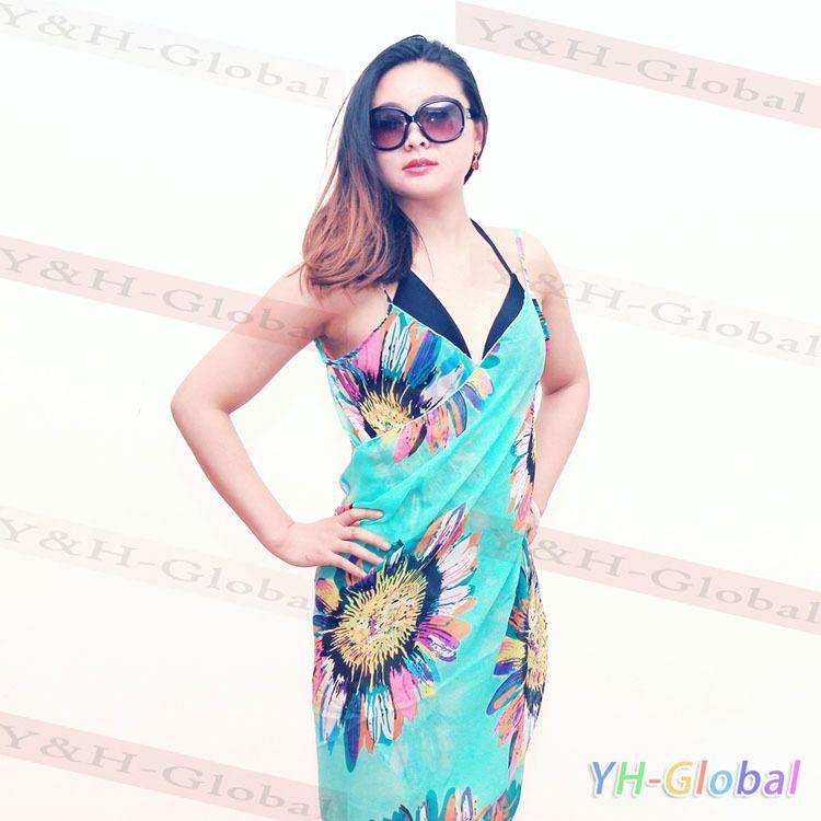 Compre Encubrimiento Desgaste Del Vestido De La Playa De Al Por ...
