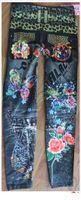 ingrosso faux di leopardo di autunno di primavera-All'ingrosso-L-343 Nuovo tatuaggio Leopard Print Faux Jeans Jegging alta elasticità Pantaloni moda donna sottili sottili leggings per la primavera autunno
