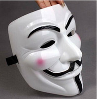 Wholesale Vendetta Masks For Sale - Wholesale-2015 Hot Sale Darth Vader Masks 1pcs V for Vendetta Anonymous Guy Fawkes Mask Halloween Cosplay Ghost Step Dance free Shipping