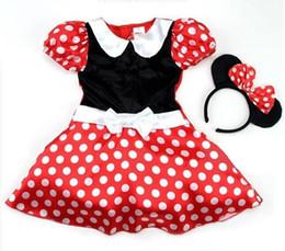 Wholesale Mini Mouse Costumes - Wholesale-minnie mouse costume Free Shipping Halloween Minnie Mouse Girls child children Party Christmas Costume Ballet Tutu Dress