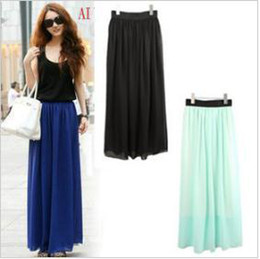 Discount Long Straight Skirts For Women | 2017 Long Straight ...