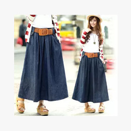 Canada Korean Fashion Denim Skirt Supply, Korean Fashion Denim ...