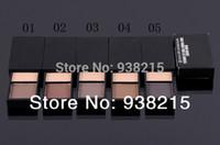 différentes couleurs de sourcils achat en gros de-Gros-5PCS / LOT maquillage de marque pas cher! Kit de forme de sourcil 2 couleurs / poudre de sourcils, 4.2G, livraison gratuite dans 5 couleurs différentes