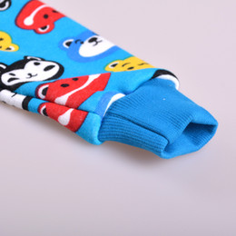 Wholesale Colorful Thermal Underwear - Wholesale-Baby cotton thermal underwear set winter for boys girls, colorful kids autumn-winter pajama clothing sets wholesale and retail