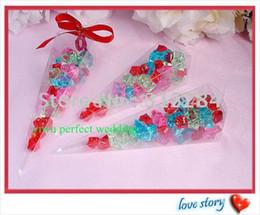 2019 caixa de cone doces Caixa de Cone do PVC Shipping-Clear-Livre-Livre, caixas dos doces do partido (XY-00AC) caixa de cone doces barato