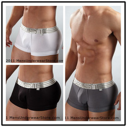 Wholesale Big White Bags - Wholesale-Free shipping 2xist male panties cotton big bag men's underwear male boxer panties single orders greater than $30 minus $3