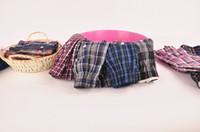 Wholesale High Quality Mens Underwear - Wholesale-4Pcs Lot New Suitable Breathable men's underwear boxers shorts plaid loose mens cueca boxer High Quality