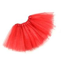 Wholesale Petti Dance Dress - Wholesale-Soft Women Girl's Adults 3 Layers Petti Tutu Ballet Dance Party Skirt Dressing Up