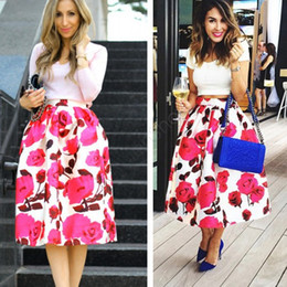 Canada Floral Print Maxi Skirt Supply, Floral Print Maxi Skirt ...