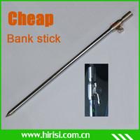 Wholesale Cheap Fly Rods - Wholesale-Cheap fishing rod pod fishing bank sticks fit bite alarm 50-90CM 4pcs lot