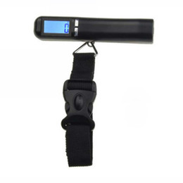Wholesale Digital Portable Luggage Scale Suitcase - Wholesale-Digital LED backlit 40 Kg x 10g Travel Portable Luggage Baggage Suitcase Bag Weight Weighing Hook Scale 88 Lbs