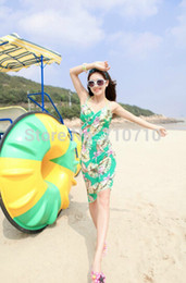 Wholesale Summer Ware - Wholesale-2015 new arrival women feather print lady pareo summer beach ware wholesale