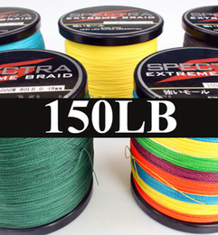 Wholesale Spectra Super Braid - Wholesale-500M SUPER STRONG 150LB 8 STRANDS COLOURFUL FISHING LINE BRAIDED SPECTRA PE Saltwater