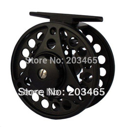 Wholesale Die Fly Fishing - Wholesale-Aluminum Die Casting fishing Fly reel FDC1,changed easily from right to left hand via china post air mail