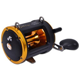 Wholesale Jigs For Fishing - Wholesale-Haibo Sword 640 4.3:1 6BB trolling fishing reels,BIG GAME REEL,jigging reel for deep sea Free shipping