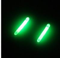 Wholesale Floating Bobber Fish - Wholesale-100pcs(20bags)night fishing float bobber glow stick light stick luminous stick
