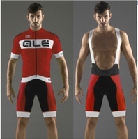 Wholesale Bicycle Short Pants - Wholesale-Ale Sublime short Sleeve Cycling Jersey Men's Cycling wear cycling clothing Bicycle short sleeve ciclismo and bib pant sets