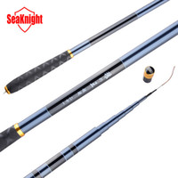 Commercio all'ingrosso-SeaKnight nuova qualità Super 3,6 M 4,5 M 5,4 M 6,0 M 99% carbonio carpa canna da pesca mano telescopica Pole mano canna da pesca