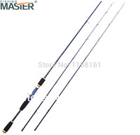 Wholesale Spining Rods - Wholesale-Free Shipping By EMS UPS Baitcasting Carbon 2.1M Spining Fishing Lure Rod 1.98M 2.4M