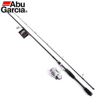Wholesale Wholesale Abu Garcia Reels - Wholesale-Free EMS Abu Garcia Brand Card S20 Full Metal Spinning Reel and S662M 1.98M Carbon Fishing Rod Spinning Lure Rod and Rod Bag SET