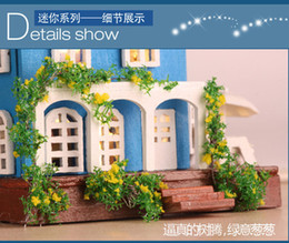 Wholesale Love Glass Model - Wholesale-Free shipping! 2015 new DIY wooden doll house toy,assembling model Glass Ball dollhouse Wedding Christmas Gift - Love Aegean Sea