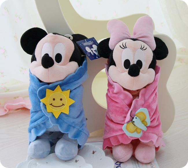 2018 Wholesale 35cm Baby Toys Mickey Mouse And Minnie