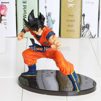 Barato Figuras De Macaco-Wholesale-1piece 15CM Frete Grátis Dragon ball z figures O Monkey King Goku figura chidren toy Retail colorful package