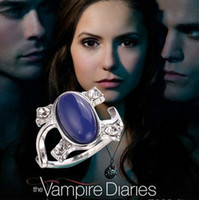 Wholesale Vampire Diaries - Wholesale-2016 New Arrival Free Shipping Vampire Diaries Elena Anti-sun Retro Rings For Women