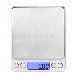 Wholesale Digital Scales Free Shipping - Wholesale-Promotion 500g 0.01 g Precision Digital Kitchen Weighing Scale with LCD Screen factory price promotion Free shipping