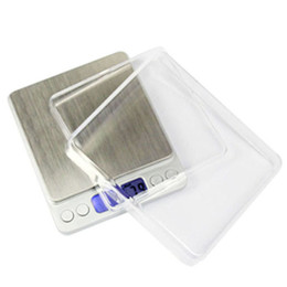Wholesale Best Pocket Scales - Wholesale-2015 Best selling Hot 3000gx0.1g LCD Digital Portable Large Platform Jewelry Pocket Scale G GN CT OZ OZT DWT I-eat