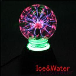 Wholesale Hot Household Items - Wholesale-Very Beauty 4inch Plasma Light Magic Lighting Free Shipping magic lamp plasma static ball, kid toy,household item hot sale