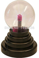 Wholesale Electric Spheres - Wholesale-Plasma Magic Lighting Static Ball Electric Crystal Globe Sphere USB Party Lamp