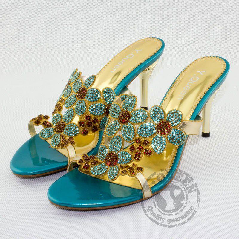Wholesale Brand Designers Pakistan Open Toe Sandals Womens High Heel
